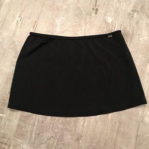 Victoria's Secret Swim Skirt Black Cover
